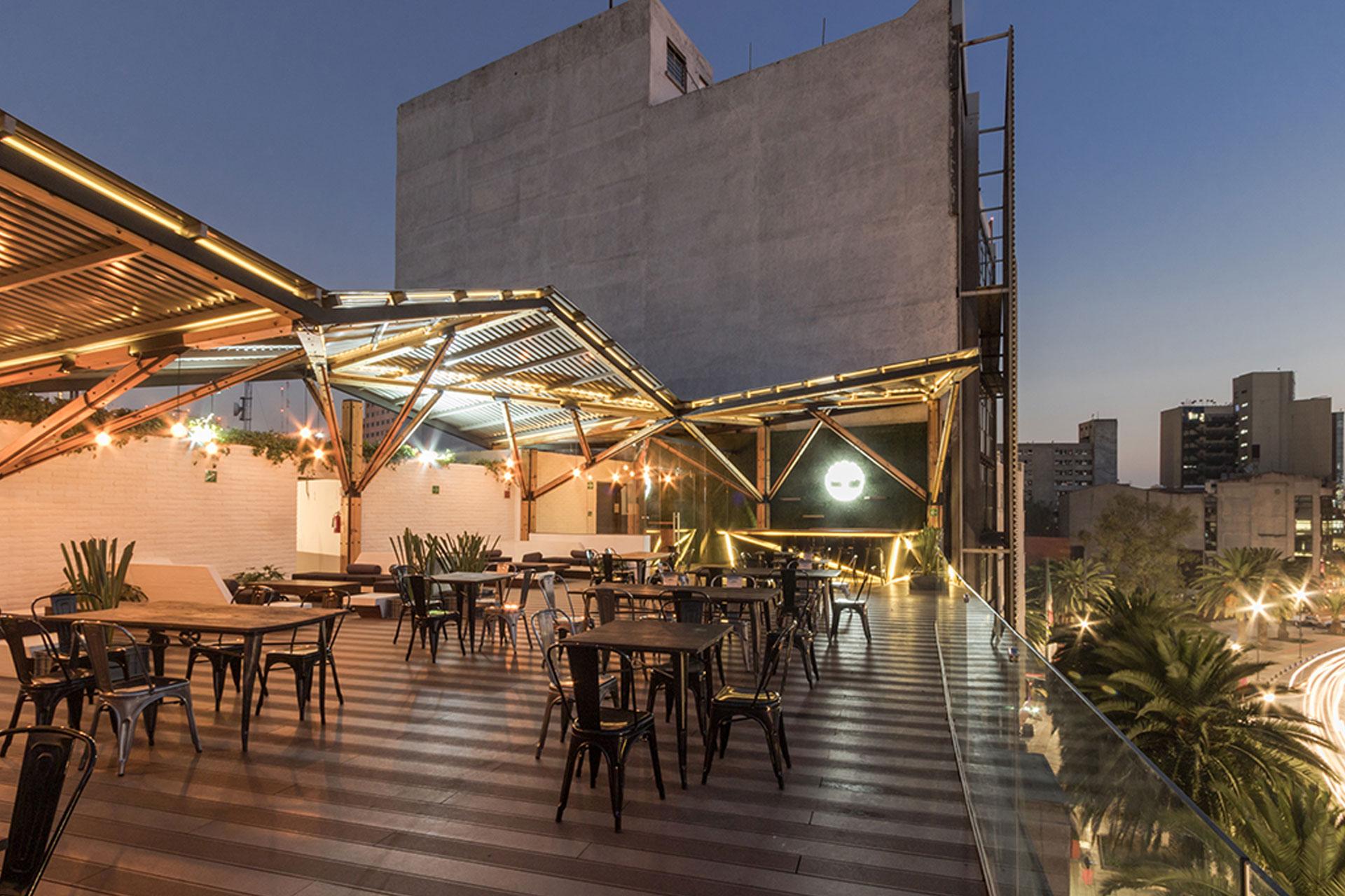 A 001 Taller De Arquitectura Terraza Timberland